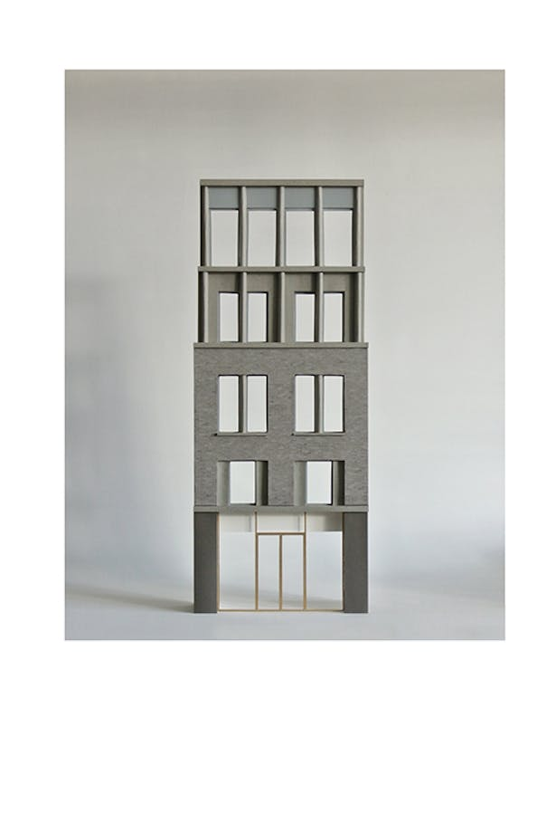 Model: Redchurch Street elevation