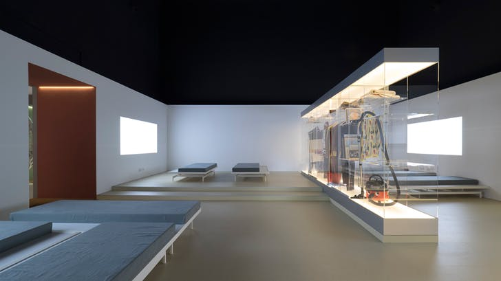 An image of Home Economics, the exhibition for the British Pavilion for the 2016 Venice Biennale.
