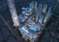 Aedas unveils the ice mountain-inspired design for Greenland Group Chengdu East Village CBED Plots