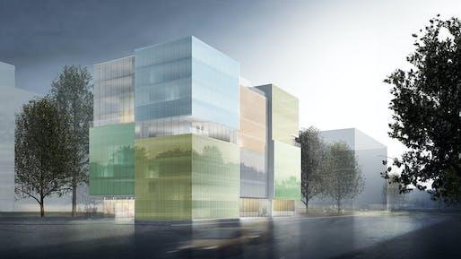 Courtesy of Steven Holl Architects and Rüssli Architekten.