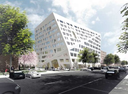 courtesy of the Architect, Studio Libeskind (via NYC Housing Authority)