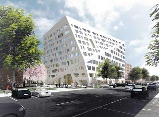 courtesy of the Architect, Studio Libeskind (via NYC Housing Authority)