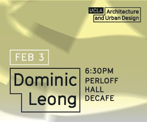 Lecture with Dominic Leong