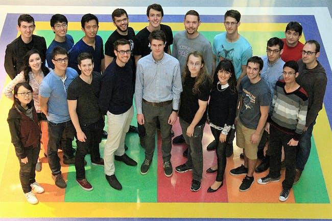 The Hyperloop MIT Team. Photo via hyperloop.mit.edu.