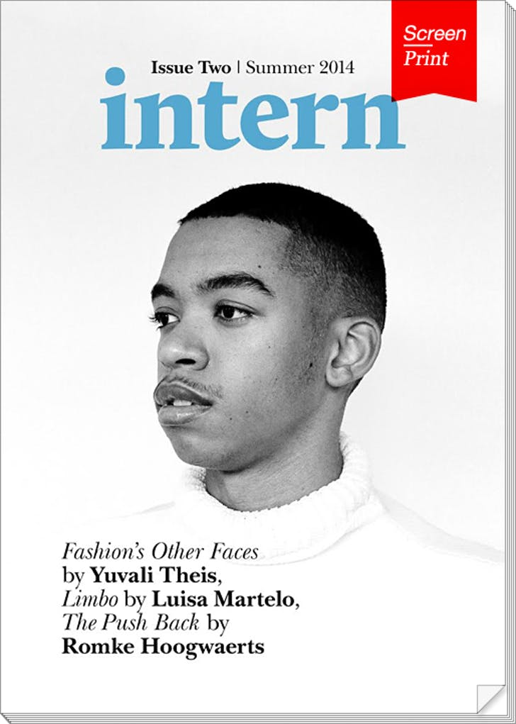Cover of issue #2, courtesy of Intern Magazine.