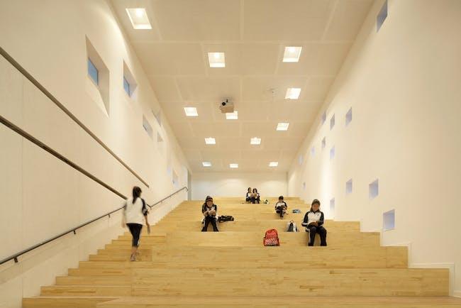 Lecture hall. Photo © Xia Zhi