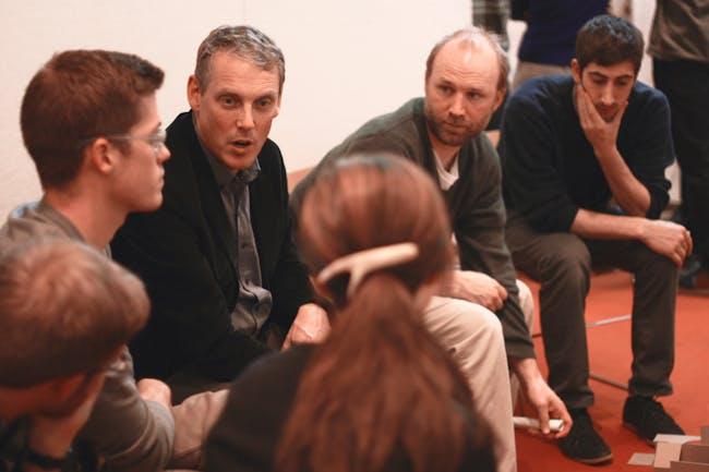 Alan Organschi and Adam Hopfner providing wisdom