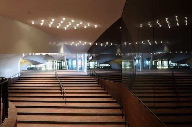 The Plaza at the Elbphilharmonie. Photo © Michael Zapf