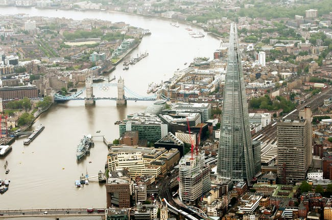 Winner - Europe: The Shard in London, UK by Renzo Piano Building Workshop © Sellar Property Group