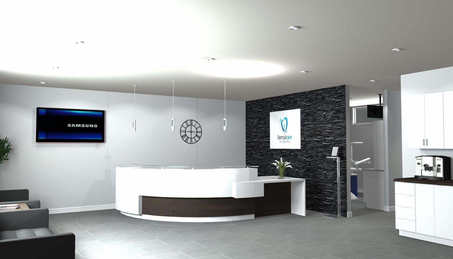 dental office design. 3D Rendering And Virtual Reality Dental Office Design G
