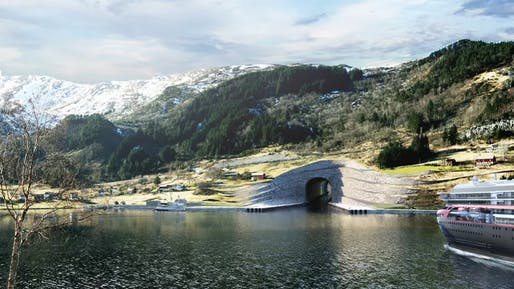Credit: the Norwegian Coastal Administration/Snøhetta