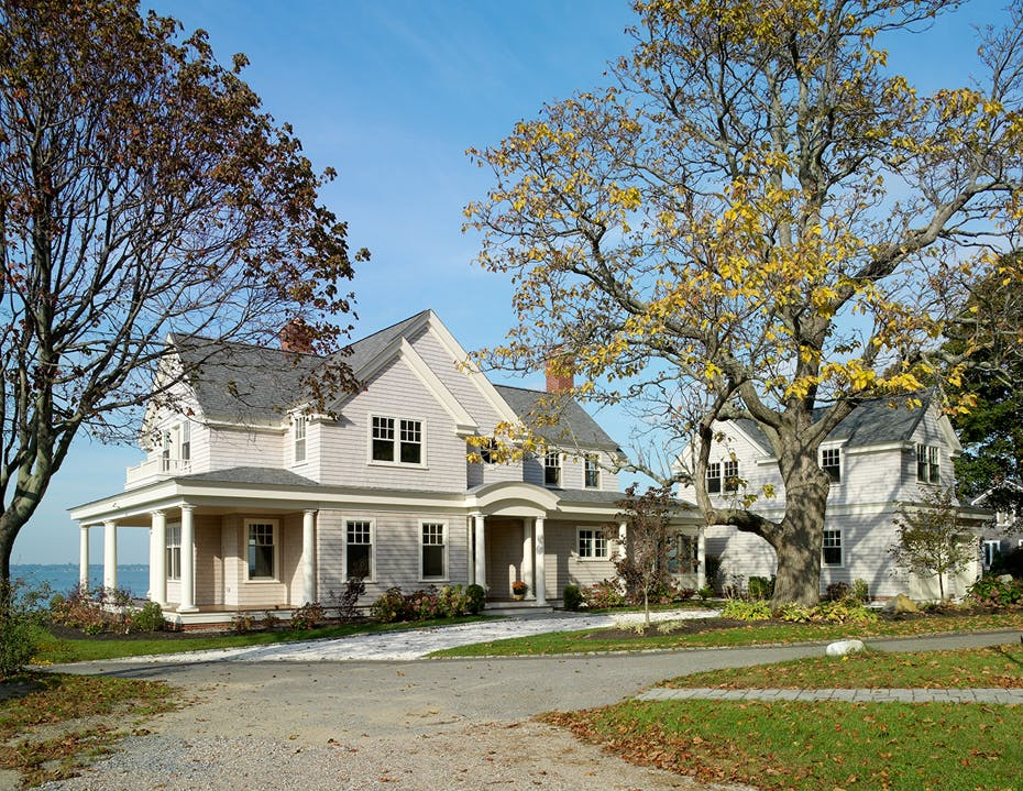 New England Waterfront Home | Couture Design Associates | Archinect