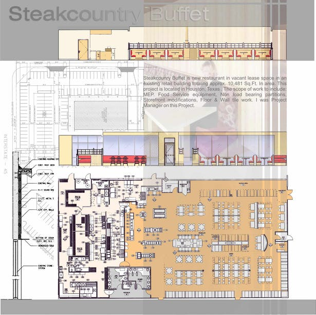 Restaurant Project - Steak Country Buffet