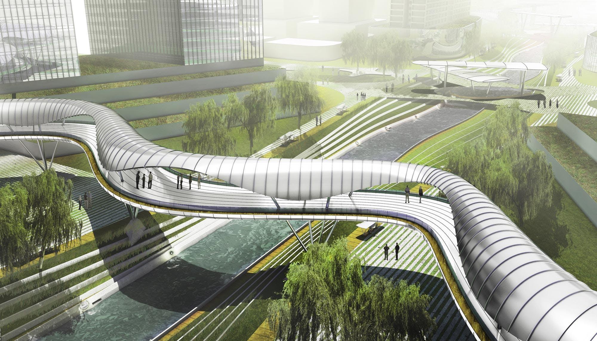 Upcycle Park Kai Tai River Avoid Obvious Architects