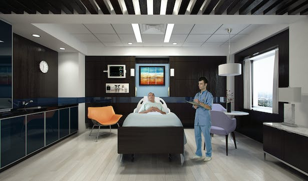VIP Patient Wing - Mt  Sinai Hospital | Charles J  Nafie Architecture +