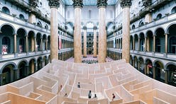 Delve into The BIG Maze at the National Building Museum in Washington D.C.
