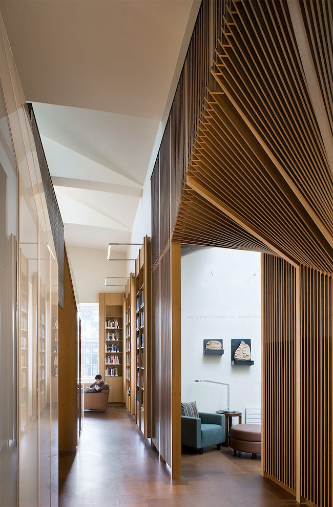 Joukowsky Institute for Archaeology and the Ancient World in Providence, RI by Anmahian Winton Architects; Photo: Warren Jagger