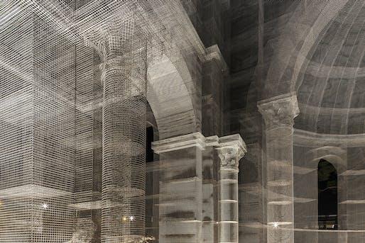 Basilica di Siponto, Manfredonia, 2016, Edoardo Tresoldi. © Roberto Conte