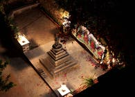 Landscaping for Buddhist Chaitya