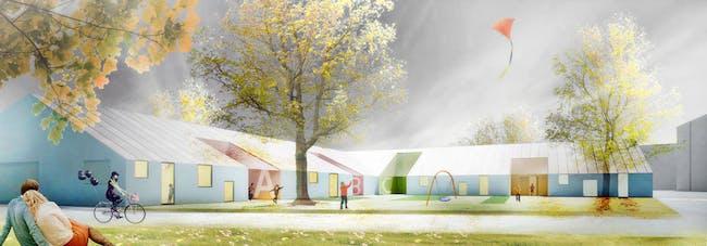 Exterior rendering (Image: Architects Rudanko + Kankkunen)