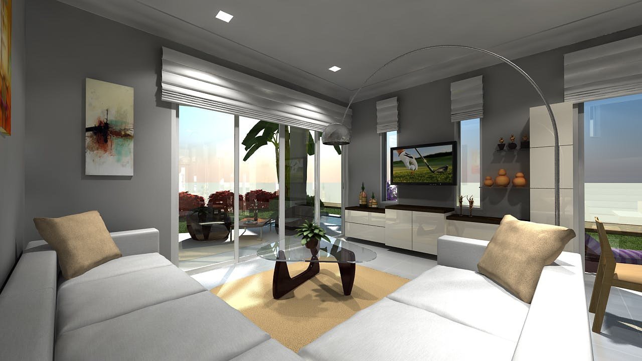 interior architectural 3d modeling samples of hotel building hi