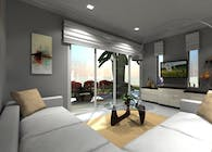Interior Architectural 3D Modeling Samples of Hotel Building