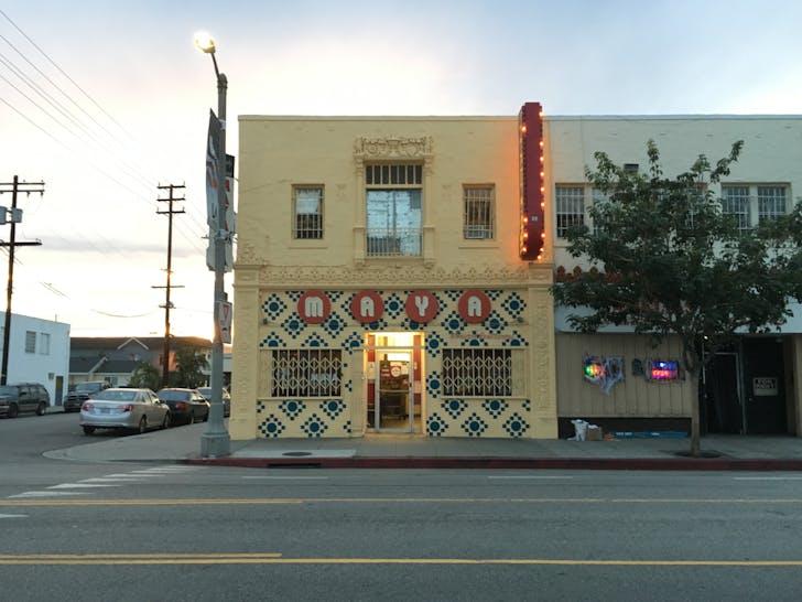 Maya Restaurant, Wilmington. Photo by LA-Más.