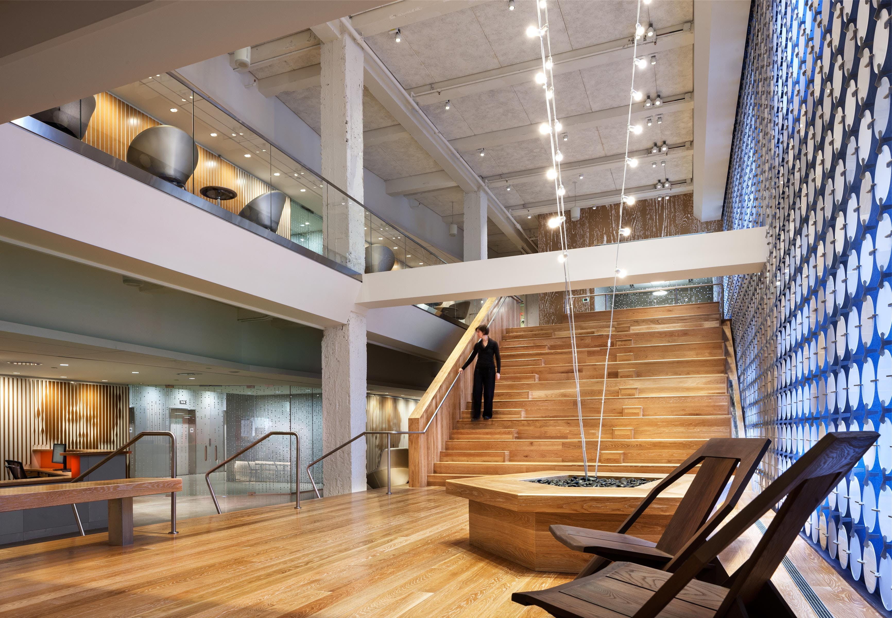 Pandora media offices abastudio andrew bartle for Design consulting nyc