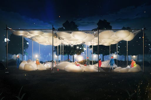 2020 City of Dreams Pavilion finalist: The Pneuma by Ying Qi Chen and Ryan Somerville​