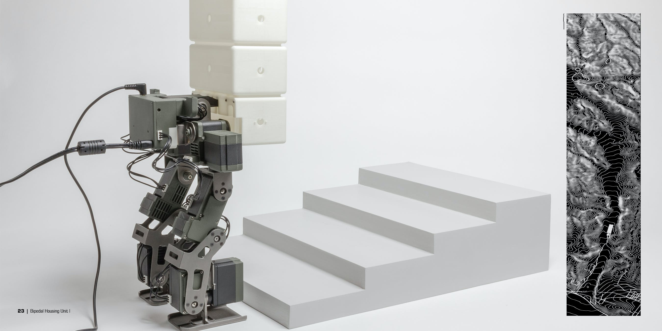 Bipedal Housing Unit (fully functional, scaled prototype model ...