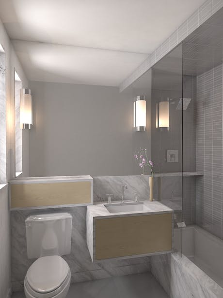 Bathroom Render Revision