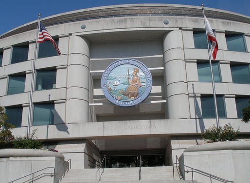 San Francisco headquarters for California Public Utilities Commission, which issued the fine and suspension of Uber. Image via Wikipedia.