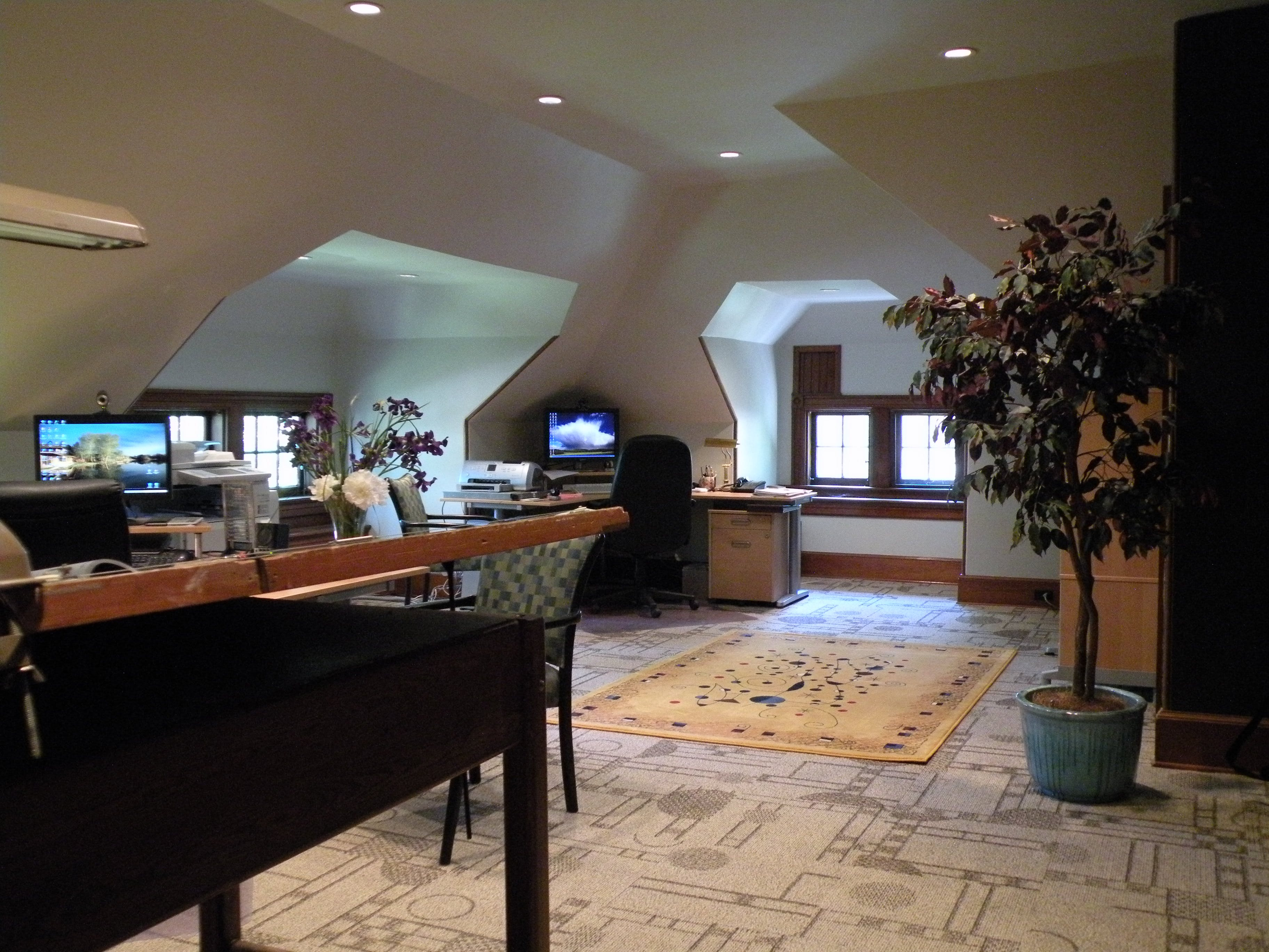 Home Office Renovation Project | Scott Lutheran | Archinect