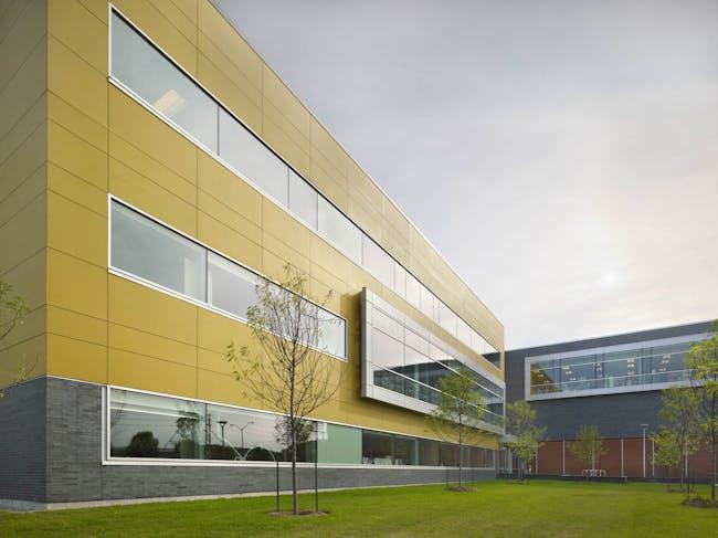 James Bartleman Centre in Ottawa, Canada by Barry J. Hobin & Associates Architects Inc. in association with Shoalts & Zaback Architects Ltd.