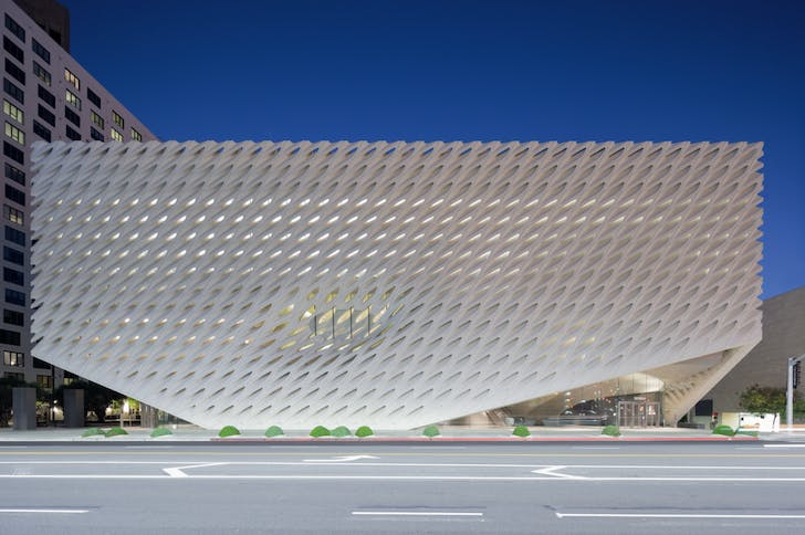 The Broad Museum. Image: Iwan Baan.