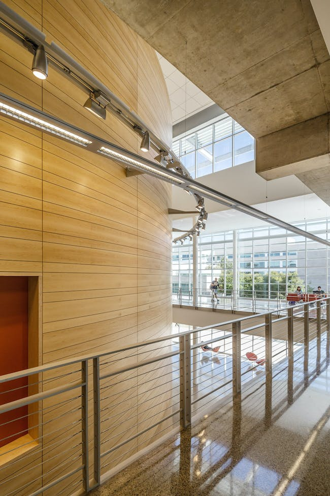 University of Texas at Dallas, Edith O'Donnell Arts & Technology Building in Richardson, TX by STUDIOS Architecture; Photo: Tim Griffith