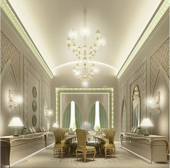 Exquisite Moroccan Dining Room Design Ions Design Archinect