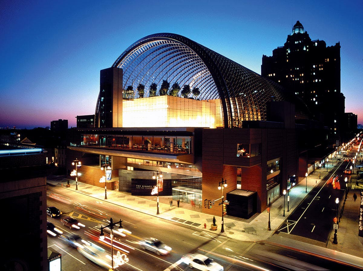The Kimmel Center For The Performing Arts Architectural