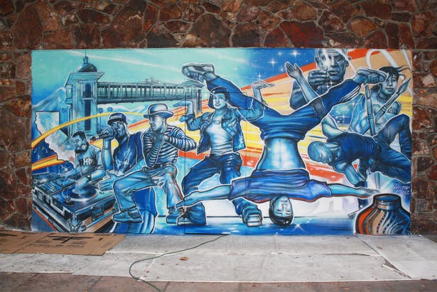 Mural by Hector Rios