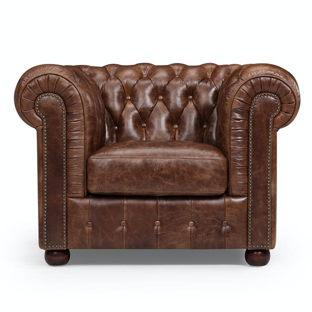 Original Chesterfield Chair Rose Moore Archinect