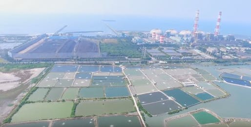 Hsinta Power Plant located in Kaohsiung City, Taiwan. Image: Taiwan Power Company.