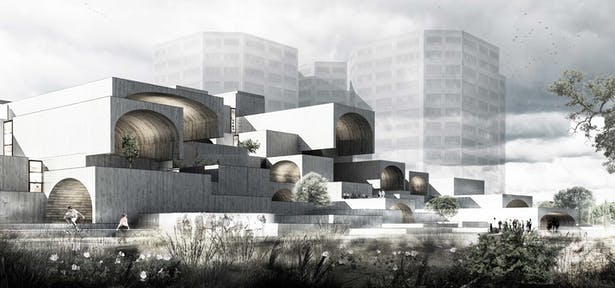 Isfahan Dreamland Commercial Center Competition