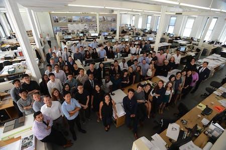Rafael Viñoly Architects' New York City team. Photo courtesy of the firm.