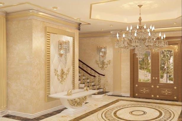 Interior design classic style luxury houses Bucharest - Interior house