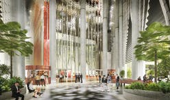 BIG + Carlo Ratti Associati's 88 Market Street tower in Singapore breaks ground