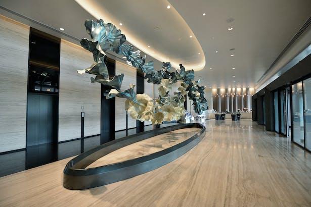 Fabulous Conrad Manila Bay Wow Architects Warner Wong Design Home Remodeling Inspirations Cosmcuboardxyz