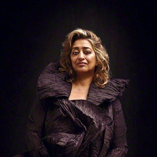 Dame Zaha Hadid (1950-2016) Image © Bryan Adams, 2008