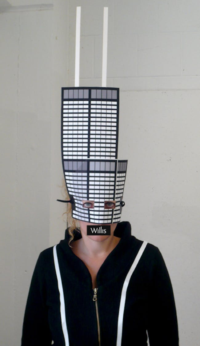 'What you talkin' 'bout, Willis?' Sears Tower Mask