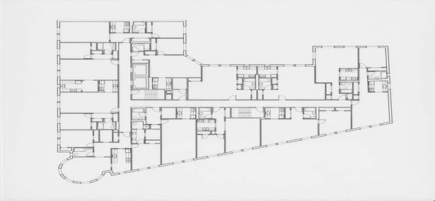 14 East 4th Street typical plan