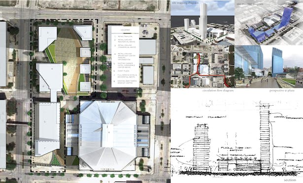 Masterplan for a new City Center Mixed-Use Complex